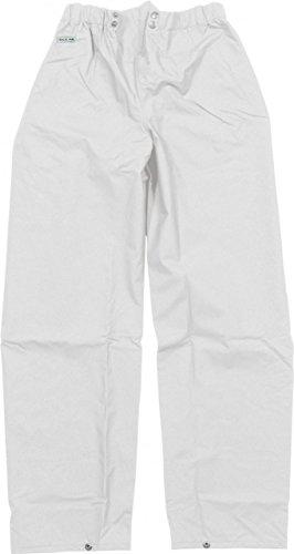 Ocean Rainwear Herren Regenhose Comfort Heavy Segelhose Ölzeug, Farbe:weiß, Größe:S