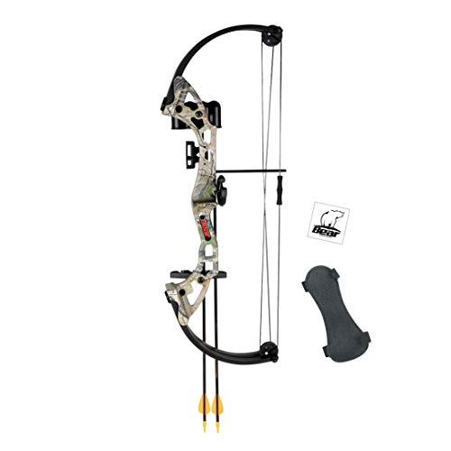 Bear Archery Brave Youth Bow Includes Whisker Biscuit,...