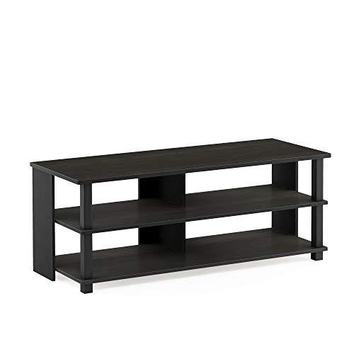 Furinno Sully 3-Tier Stand for TV up to 50, Espresso/Black