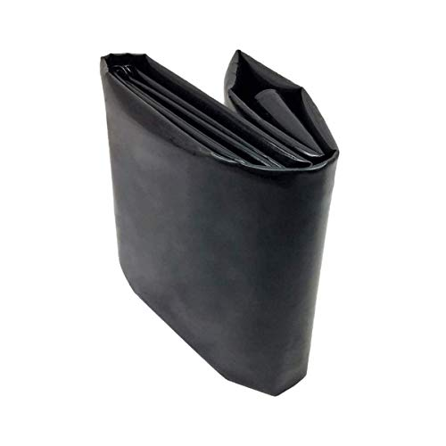 PVC Teichfolie 0,2mm Stärke Schwarze Fisch und Pflanzenfreundlich, UV und Witterungsbeständig Schwimmteich Folie Gartenteich Teichplane Aquagart Garten Teichzubehör,(Size:10x20ft/3x6m,Color:0.2mm)