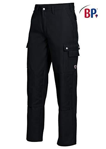 BP 1792-555-81-46n Shorts, mit Doppelknopfverschluss, 295,00 g/m² Stoffmischung, rot/schwarz ,46n