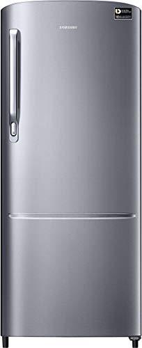 Samsung 212 L 3 Star ( 2019 ) Direct Cool Single Door Refrigerator(RR22M272ZS8, Elegant Inox, Inverter Compressor)