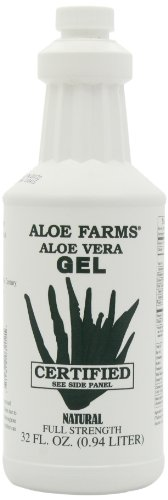Aloe Farms Aloe Vera Gel Organic, 32-Ounce ( Packaging May Vary)