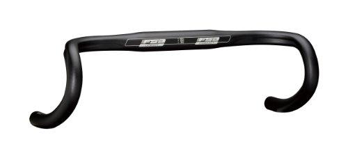 FSA Manillar Bicicleta de Carretera Omega Compact Negro Anch