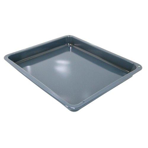 Original AEG Backofen Drip Pan Grau / Blau emaillierte 3870288200