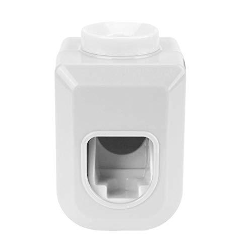 Foru-1 Automatischer Badezimmer-Tuben-Halter für Zahnpasta-Spender weiß