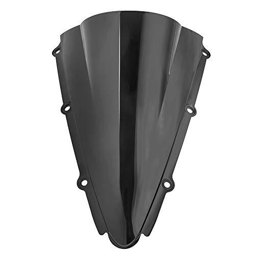 Fumée sombre moto ABS vague pare-brise déflecteurs de vent pare-brise écran pare-brise pour 2000 2001 Yamaha YZF-R1 YZF R1 00-01 accessoires
