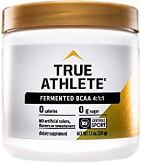 True Athlete BCAA 4:1:1 4gm LLeucine, 1gm LIsoleucine 1gm LValine per Serving Supports Muscle Growth Recovery, 30 Servings...