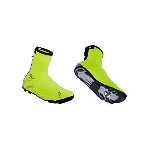 BBB Cycling Fahrrad WaterFlex 3.0 | fur Herren und Damen | Regenschutz Wasserdicht Uberschuhe Rennrad MTB | BWS-23 Gelb45/46, Neon Yellow, 45/46