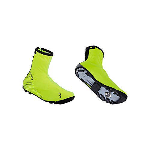 BBB Unisex Cycling Fahrrad Überschuhe WaterFlex 3.0 Regenschutz Wasserdicht Ubers, Neongelb, 39/40 EU
