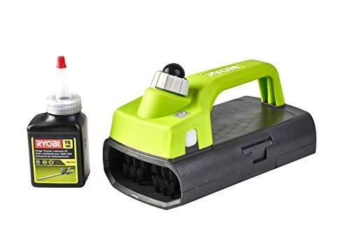 Ryobi 5132002864 Verzorgingsset voor heggenschaars, bestaande uit verzorgende olie en borstel, beschermt tegen corrosie en roest, RAC311
