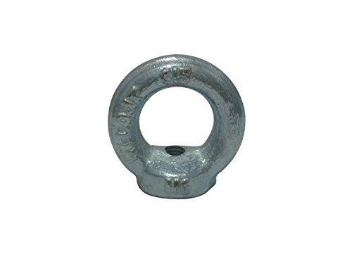 10 x Ringmutter Ringmuttern Ösenmutter M6 DIN 582 verzinkt C15