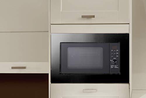Silva-Homeline EBM-G 20.9 - Microonde da incasso con funzione grill e scongelamento, 9 programmi automatici di cottura