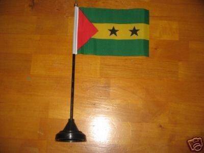 Tisch Flagge Sao Tome & Principe