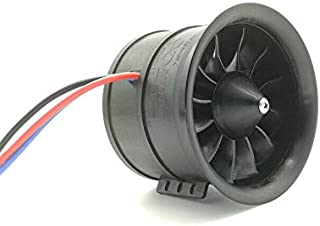 90mm 12-blades Ducted Fan EDF 6S 1450KV Blusheless Motor for RC Jet Airplane