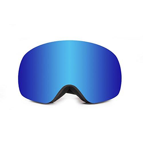 Ocean Skibril Arlberg blauw
