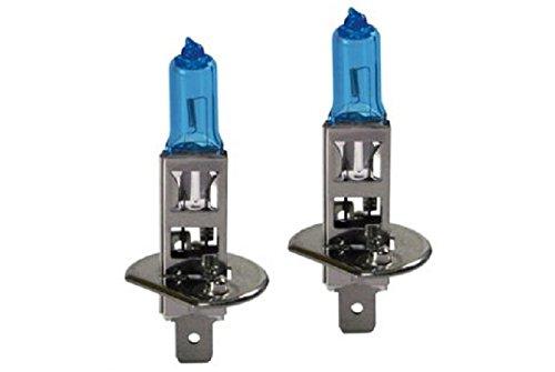 Coffret 2 ampoules Xenon Bleu 12V H1 55W de Rechange Feu de Route Croisement - 886