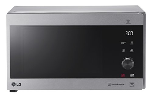 LG Electronics NeoChef MH 6565 CPS Mikrowelle / 1000W / Quarz Grill / 25 L / edelstahl