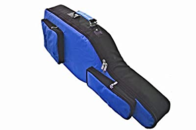 New Playstation 4 Console Guitar Hero 6 Blue & Black Guitar Case Bag by TGC