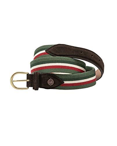 Cinturón Elástico Verde Granate