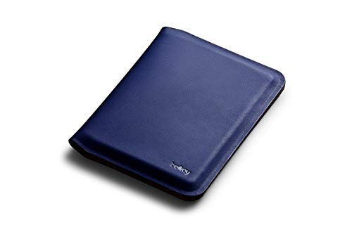Bellroy Apex Passport Cover 革製パスポートケース RFID保護機能付き - Indigo