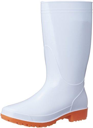 [ジーデージャパン] 衛生耐油長靴 RB-653 先芯無し 厨房 食品工場 PVC製耐油長靴 ホワイト 29cm