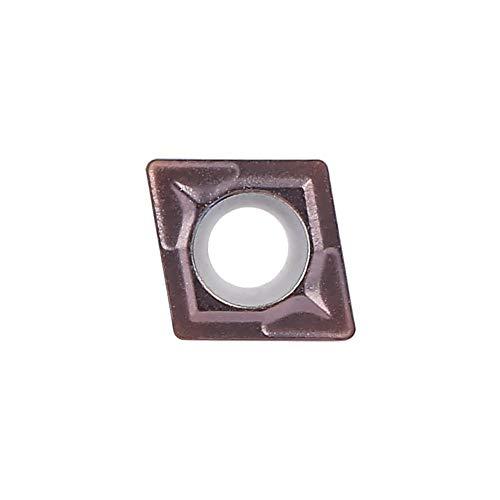 Zerone 10pcs CCMT060204 VP15TF inserto in metallo lama CNC tornio fresa strumento di tornitura
