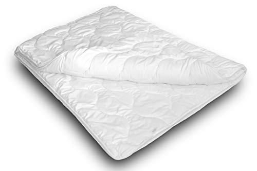 Siebenschläfer 4-Jahreszeiten Bettdecke (135x200 cm) - Steppdecke bestehend aus Zwei für Allergiker geeigneten Schlafdecken - warmes Vierjahreszeiten Oberbett für Sommer und Winter