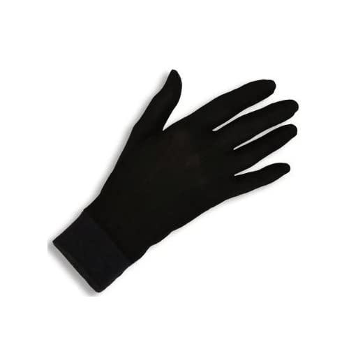 933362ecb Jasmine Silk Pure Silk Gloves Thermal Liner Glove Inner Ski Bike Cycle  Gloves (Extra Extra