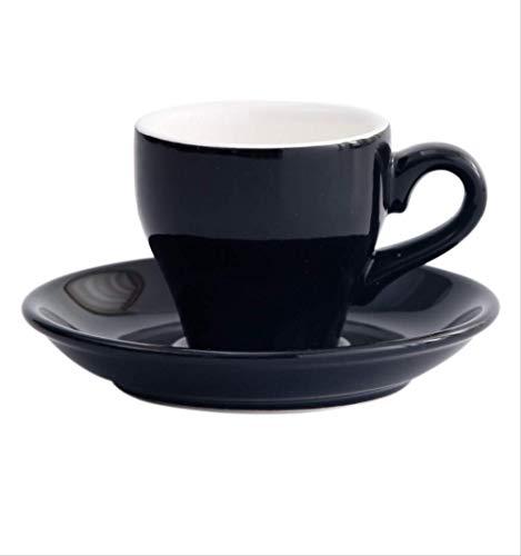 ZXS 80Cc Te-Espresso Set Kaffeetasse Europäische Kaffeetasse Espressotasse Amerikanische Kaffeetasse. 80Cc. Schwarz.
