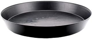 Generic Pots 724929 Plastic Saucer, 25 inch, Black