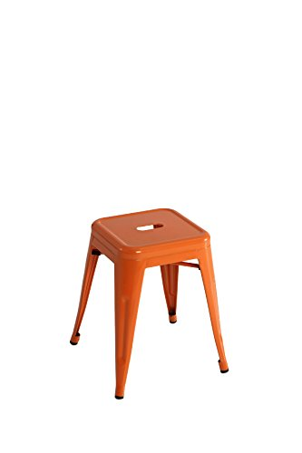Kit Closet sillas y taburetes inductrial, Naranja