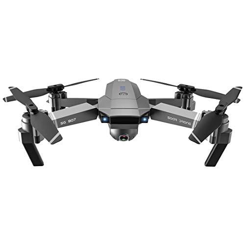 Leic RC Quadcopter SG907 5G 4K HD GPS Doppelkamera Geste Foto Video Faltbare Drohne für Kinder Erwachsene