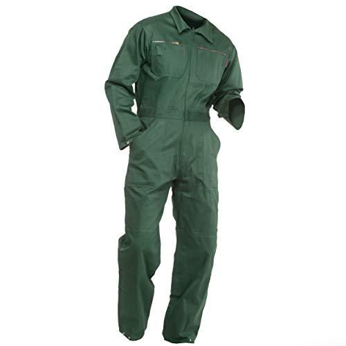Sweat Life® Herren Overall Arbeitsanzug Grün (54)