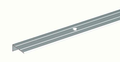 GAH-Alberts 476755 Treppenkanten-Schutzprofil   Aluminium, silberfarbig eloxiert   1000 x 24,5 x 20 mm