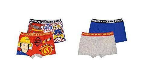 Feuerwehrmann-Sam Unterhose Boxershort 2er Set, Motiv:Motiv 2, Größe:116-128