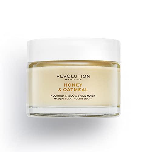 Revolution Skincare Rev Skin Honig- und Haferflocken-Maske, 50 ml