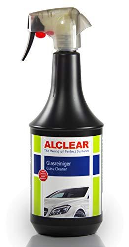 ALCLEAR 721GR Auto Glasreiniger für streifenfreie Scheiben mit Tiefenwirkung und Abperleffekt, KfZ Scheibenreiniger für Windschutzscheiben 1.000 ml