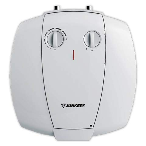 Junkers Grupo Bosch Termo Electrico 15 litros Superior Elacell Pequenos Litrajes | Calentador de Agua Vertical, Resistencia Ceramica, 1500w