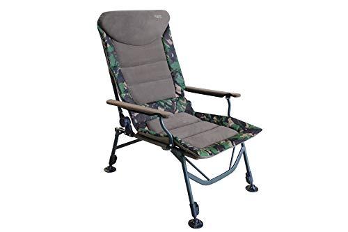 MK-Angelsport Kingsize Big Boy belastbar bis 150kg, bequemer Carp Chair Angelstuhl Karpfenstuhl Stuhl Outdoor