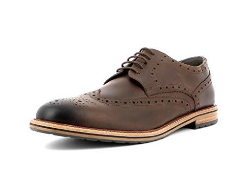 Gordon & Bros. Herren Schnürhalbschuhe Crockett S191605, Männer Businessschuh, schnürer Derby schnürung anzugschuh,Cow Mondo Brown,44 EU / 10 UK
