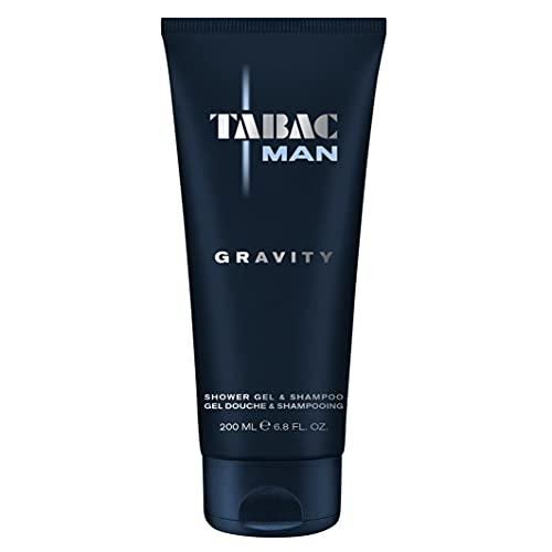 Tabac® Man Gravity | Duschgel & Shampoo des attraktiven Duftes Tabac Man Gravity - sorgt für ein spürbar gepflegtes Frischegefühl | 200ml