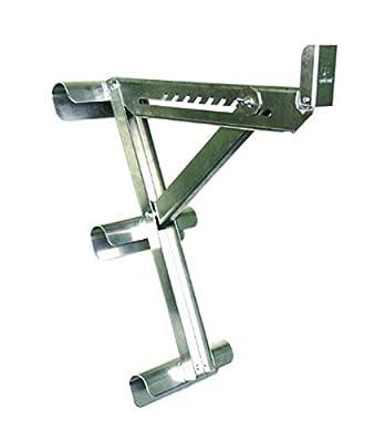 Qualcraft 2430 Aluminum 3 Rung Long Body Ladder Jack