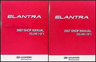 2007 Hyundai Elantra Repair Shop Manual 2 Volume Set Original