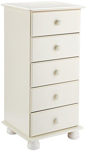 Steens Furniture dressoir Richmond, massief grenen Höhe 91 cm, Breite 44 cm wit