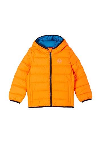 s.Oliver Junior Jungen 404.10.102.16.150.2059292 Jacke, orange, 128