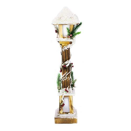 The Christmas Workshop Lampe Post, LED Blanc Chaud, Hauteur de 60 cm de Large x 13 cm de Profondeur