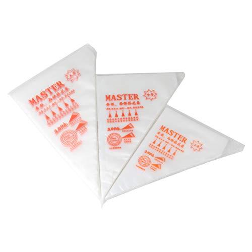 100pcs Bolsas de Pastelería Mangas Pastelera Bolsas Desechables para Decoración de Pasteles y Galletas Tamaño L