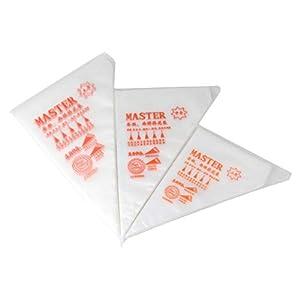 Malayas 100pcs Bolsas de Pastelería Mangas Pastelera Bolsas Desechables para Decoración de Pasteles y Galletas Tamaño L