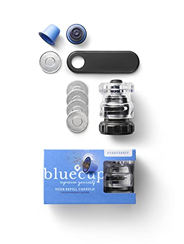 Bluecup Reusable Coffee Pod Starter Pack (for Nespresso)
